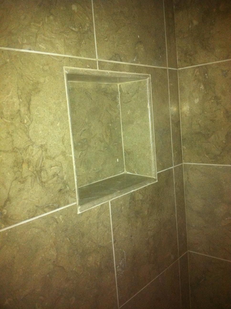 Shower Niche #2